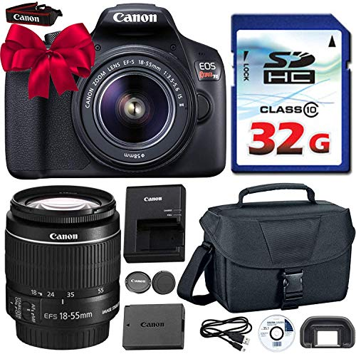 Canon EOS Rebel T6 DSLR 18mp WiFi Enabled + EF-S 18-55mm IS