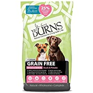 Burns Pet Nutrition Hypoallergenic Complete Dry Dog Food Adult and Senior Dog Grain Free Duck and Po...