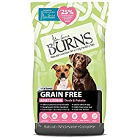 Developed by Veterinary Surgeon John Burns Grain-free, gluten free and dairy free Contains nutrient-rich buckwheat Contains vitamins which support all-round health Highly-digestible Suitable for sensitive dogs