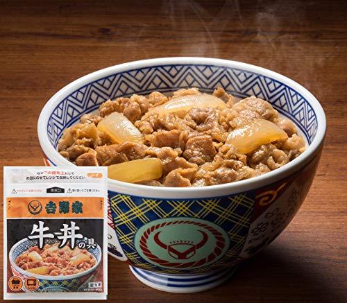 吉野家 冷凍 牛丼の具 15食 セット (120g×15P)
