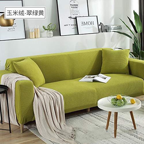 misshxh Universele Elastische Armchair Cover, Decoratieve Sofa Cover, Anti-slip Thuis Huisdier Cover, 1/2/3/4 Zitting, 1-6,2 Personen 145-185Cm