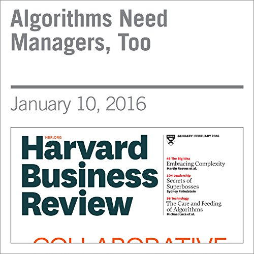 Algorithms Need Managers, Too copertina
