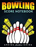 Photo Gallery bowling score notebook: awesome bowling game record book, bowler score keeper, 16 players who bowl 10 frames, can be used in casual or tournament play  (100 pages)