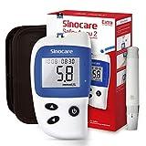 sinocare Diabetes Test Kit, Blood Glucose Monitor, Safe Accu2 Blood Sugar Testing Kit