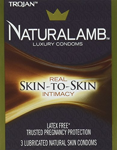 Trojan Naturalamb (3 Lubricated Natural Skin Condoms)