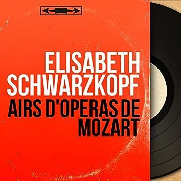 Airs d'opéras de Mozart (Mono Version)