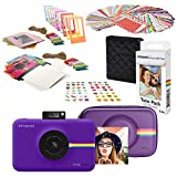 Polaroid Snap Touch Cámara Digital Instantánea (Purpura) Kit de Inicio con Funda Eva