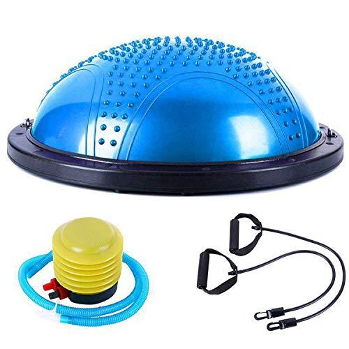 Fantastic Deal! CAJOLG DZVXZ Exercise Ball Yoga Half Ball Balance Balance Training Hemisphere Explos...