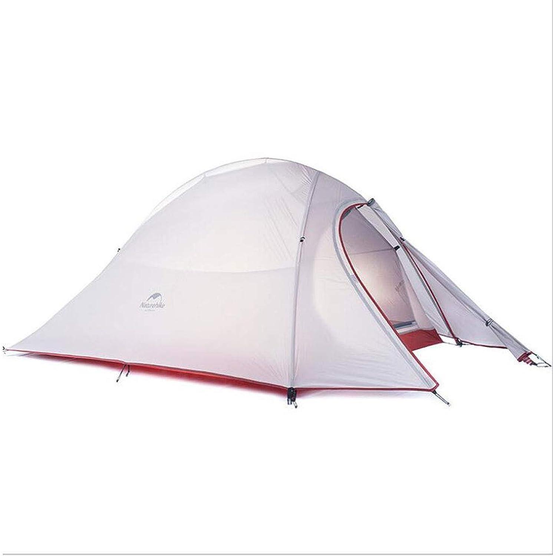 KISlink Strandzelt Einzel Doppel 2 Personen Wild Camping Zelt Regenfest Nicht Leicht Verformt 20D Silikon Ultraleicht