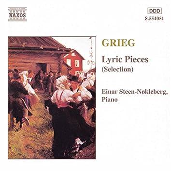 Grieg: Lyric Pieces, Books 1 - 10 (Selection)