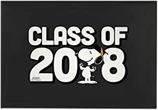 CafePress Snoopy Class Of 2018 Rectangle Magnet, 2