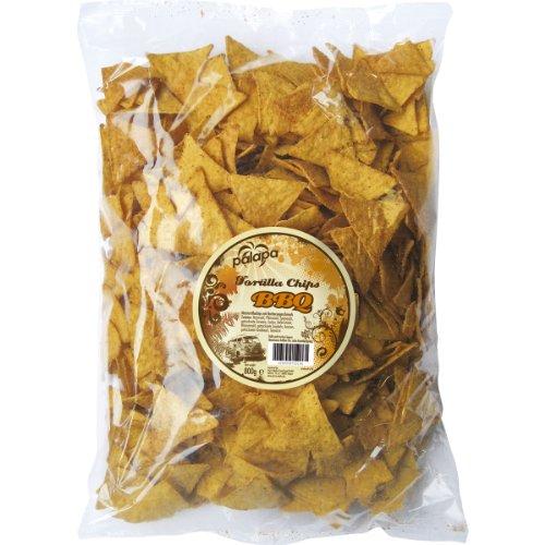 Palapa Tortilla Chips BBQ | 800 gr | Mexikanischen Küche | Ohne Konservierungsstoffe | Hervorragender Geschmack | Vegan | Glutenfrei