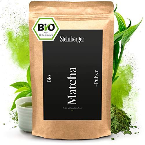 Bio Matcha Tee Pulver I Premium-Qualität I Original japanisches Grüntee Matcha Pulver I 100 g im wiederverschließbaren Aromapack