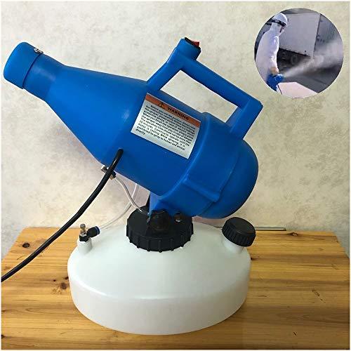 FHUILI 4.5L électrique Pulvérisateur ULV brumisateur Désinfectant Machine - Portable Brumiseur électrique ULV Pulvérisateur - pour l'école Hôpital, désinfection, Nettoyage