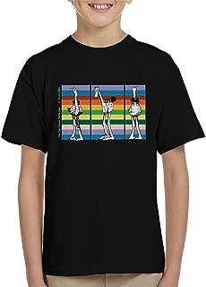 Comics Kingdom Krazy Kat Walter Rainbow Line Up Kid's T-Shirt