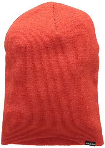 Volcom Herren Modern Beanie, Fire Red, One Size