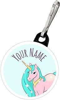 Kids Labels Zipper Pulls Unicorn Design