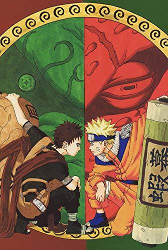 Spetich Gaara Y Naruto 1000 Piezas Rompecabezas De