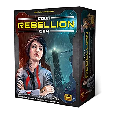 Indie Boards & Cards Coup Rebellion G54 Card Game