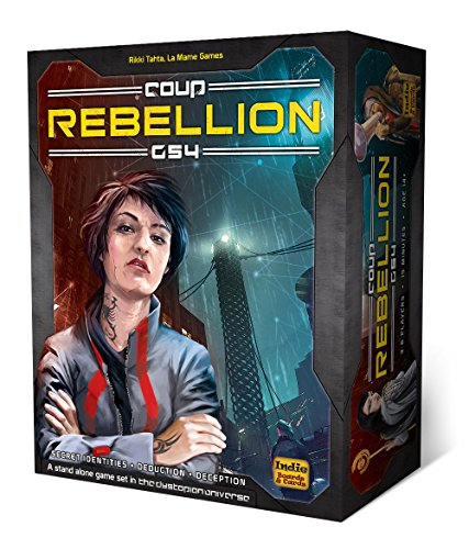 Indie Board & Card Games IBG0CO03 Brettspiel Coup Rebellion G54