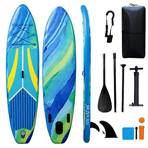 Tigerxbang SUP - Tabla de surf de remo (320 x 80 x 15 cm)