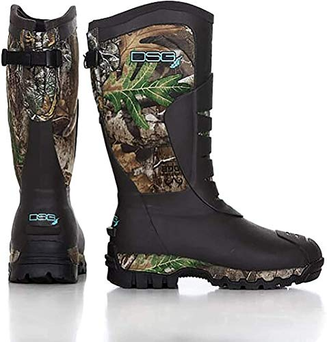 DSG Rubber Hunting Boot | Edge & Aqua | Size 10
