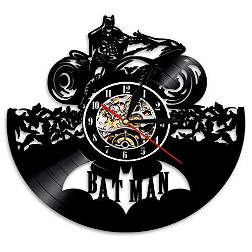 wtnhz LED-Fashionable vinyl record clock creative wall clock