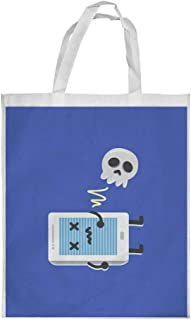 Skull Printed Shopping bag, Large Size