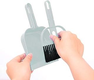 Lorenlli Mini Brosse de Nettoyage et Pelle à poussière Ensemble Outils de Nettoyage de Balai de Balayage de Bureau pour Cl...