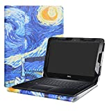 Alapmk Protective Case Cover for 11.6' Dell Chromebook 11 3189 3180/Inspiron Chromebook 11 3181/Latitude 11 3180 3190 Education Series Laptop(Note:Not fit Dell Chromebook 11 5190 3120),Starry Night