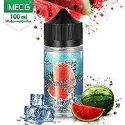 IMECIG Eiswassermelone E Liquid für E Zigaretten/E Shisha, 70VG/30PG Vape Eliquids, ohne Nikotin (Eiswassermelone01)