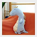 NC56 Dinosaurio de dibujos animados juguetes de peluche Kawaii Cozy Plush T-Rex Dinosaur - Almohada de animal de peluche suave y tierno para niños Art Creativity Tyrannosaurus Stuffed Animals Doll -...
