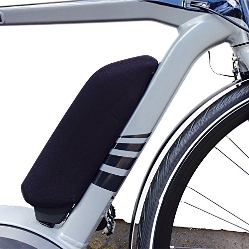 NC-17 E-Bike Akku Schutzhülle / Batterie Thermo Cover für Bosch Rahmenakku / Neopren / Schwarz
