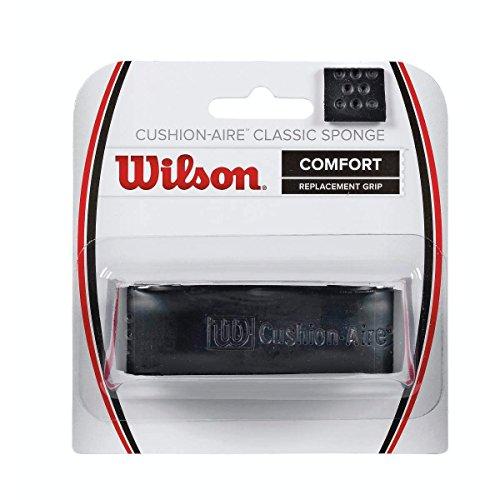 Wilson Unisex Basisgriffband CA Classic Sponge Grip, schwarz, 1 Stück, WRZ4205BK
