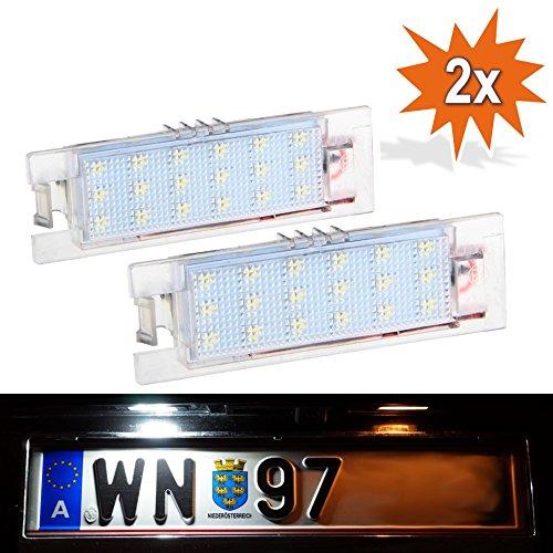 Éclairage LED VXL de plaque d'immatriculation de Do!LED, avec marque d'homologation E