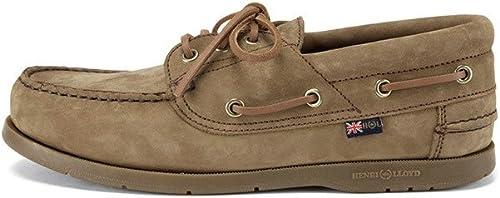 2016 Henri Henri Lloyd Solent Deck chaussures marron Nubuck Caramel F944152  100% de contre-garantie authentique