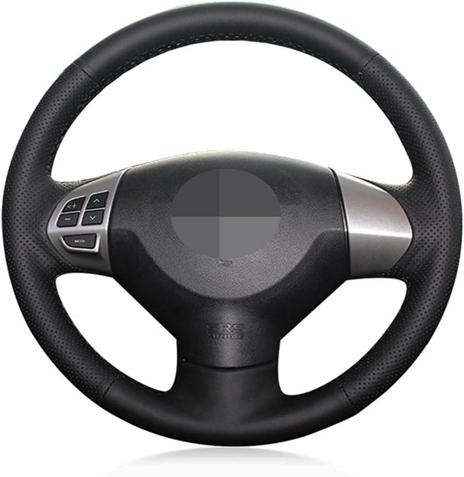 MDHANBK DIY Max 87% OFF Hand-Stitched Car Steering Wheel B Washington Mall Accessories Cover