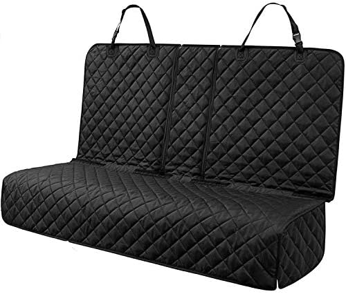 PETICON Dog Car Seat Covers for Back seat Nonslip Durable Soft Pet Back Seat Bench Covers for product image