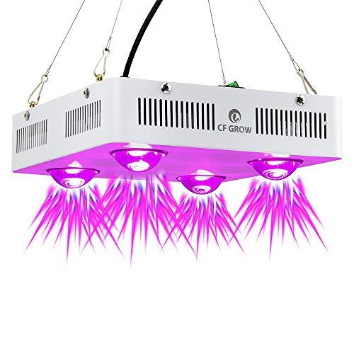 COB LED Pflanzenlampe, Vollspektrum Indoor-Gewächshaus Hydroponic Greenhouse Plant Growth Lighting Ersetzen Sie die UFO-Wachstumslampe,600w