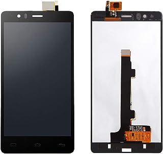 JayTong - visualización LCD y digitalizador de visualización táctil de Repuesto para BQ Aquaris E5 4G 0760 IPS5K0760FPC-A1-E Negro
