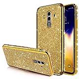 Coque Huawei Mate 10 Pro Etui,Ultra Mince Brillante Diamant Bling Strass cristal Sparkle glitter...