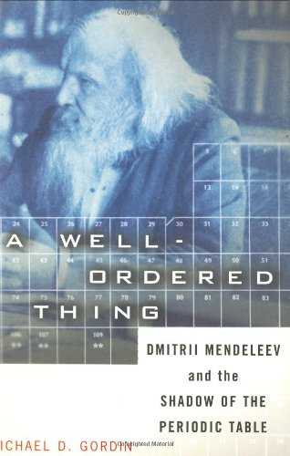 A Well-ordered Thing: Dmitrii Mendeleev And The Shadow Of The Periodic Table
