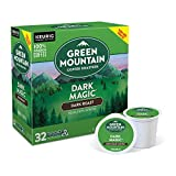 Green Mountain Coffee Roasters Dark Magic, Single-Serve Keurig K-Cup Pods, Dark Roast Coffee, 32 Count