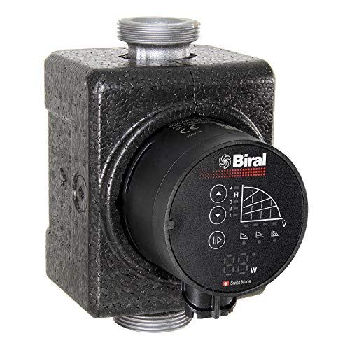 Biral Heizungsumwälzpumpe PrimAX 25-6 180 RED G1 1/2 inkl. Wärmedämmschale Pumpe NEU
