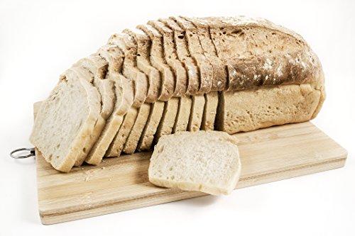Pan ecológico artesanal con masa madre en horno de leña. Sabor tradicional exquisito. Envío GRATIS 24h. (Pan Blanco de trigo 750gr aprox)