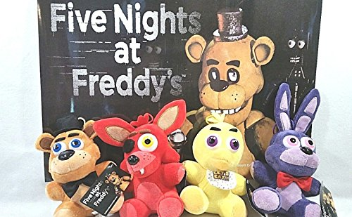 Five Nights at Freddy's Plush Toy (4 pieces)
