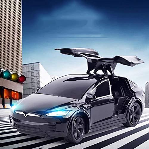 SSBH Tesla Recargable 2.4G RC Electrónica de Vehículos Carrera Remoto Adultos Niños Niño Niña de cumpleaños Control de Alta Velocidad Deportes Coche eléctrico Drift Racing For Kid