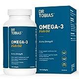 Dr Tobias Omega 3 Fish Oil Triple Strength 1,165mg - Gluten Free