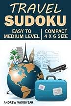 Travel Sudoku: 200 Easy To Medium Pocket Sized Puzzles (Compact Sudoku Puzzle Books For Travel) (Volume 1)