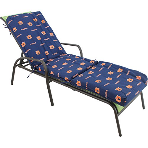 College Covers Auburn Tigers 3 Piece Chaise Lounge Cushion
